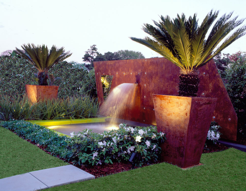 Garden Design Ideas Sydney : Living colour landscapes rooftop garden design sydney city